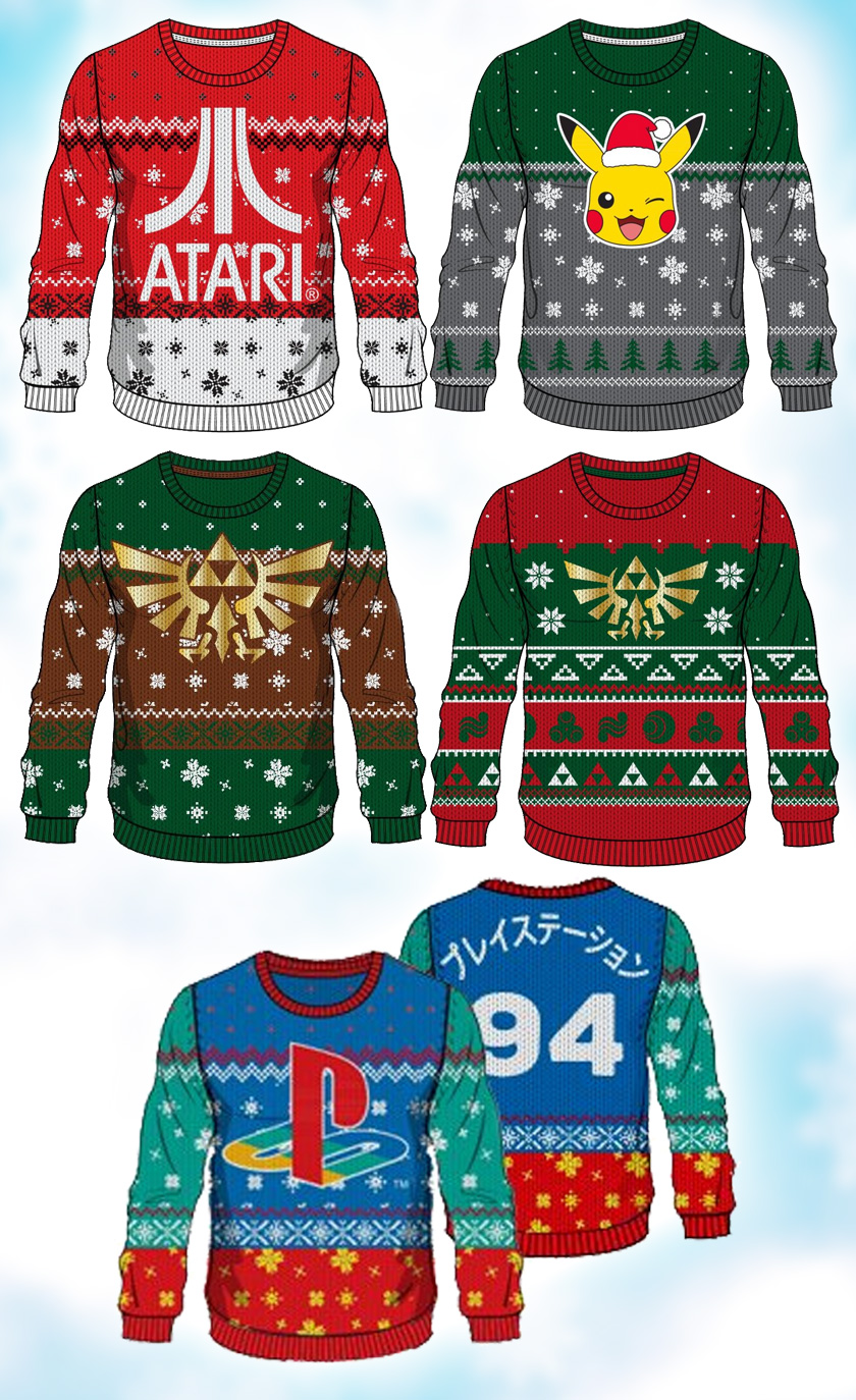 Xmas Jumpers – Gaming and Nerd News